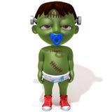 Baby Jake Frankenstein royalty-vrije illustratie