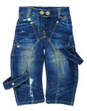 Baby jeans Royalty Free Stock Images