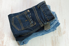 Baby jeans Royalty Free Stock Image