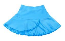 Baby jersey light blue skirt Stock Photos