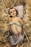 Baby Jesus. A baby Jesus Christmas decoration Stock Images
