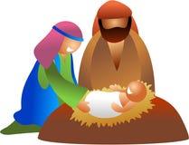 Baby Jesus royalty-vrije illustratie