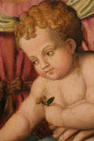 Baby jesus paint Royalty Free Stock Photography