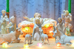 Baby jesus statue Stock Photos