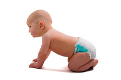 Baby-jongen stock afbeelding