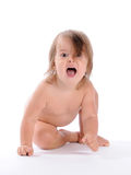Baby Joyful Cry Royalty Free Stock Image