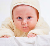 Baby in jumpsuit Royalty Free Stock Photo
