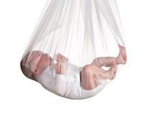 Baby in kant Royalty-vrije Stock Foto