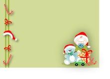 Baby in Kerstmis Stock Afbeeldingen