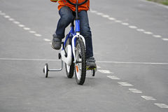 Baby and kids Bicycle. Royalty Free Stock Images