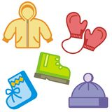 Baby and Kids' Icon Series Stock Photography