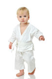 Baby in kimono Stock Image