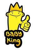 Baby king Stock Photos