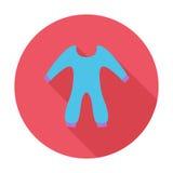 Baby-Kleidung Stockbild