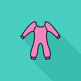 Baby-Kleidung Lizenzfreies Stockfoto