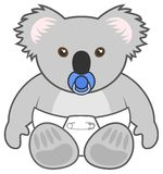 Baby koala Royalty Free Stock Images