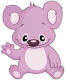 Baby koala waving Royalty Free Stock Images