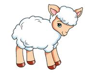 Baby lamb Royalty Free Stock Photos