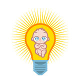Baby lamp Stock Image