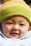 Baby laughing Stock Images