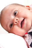 Baby laughing Stock Photography