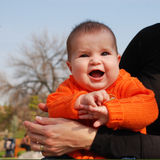 Baby laughter Stock Images