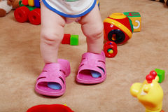 Baby legs Royalty Free Stock Photography