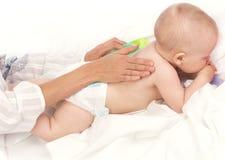 Baby-let op Royalty-vrije Stock Fotografie