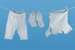 Baby linen Royalty Free Stock Images
