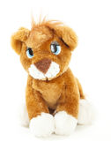 Baby Lion soft toy Stock Photo