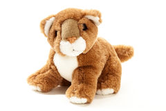 Baby Lion soft toy Royalty Free Stock Image