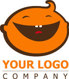 Baby logo Royalty Free Stock Photo