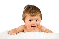 baby looking at camera Royalty Free Stock Photos