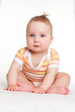 Baby looking into the camera. Stock Image