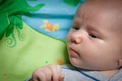 3d90ac7bb784 Cute Baby Looking Sideways Stock Images - Download 301 Royalty Free ...