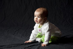 Baby looking to future Royalty Free Stock Images