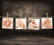 Baby love album. Baby clemency concept. Baby love album Royalty Free Stock Photos