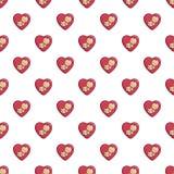 Baby love pattern seamless Stock Photo