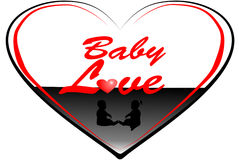 Baby love 3 Royalty Free Stock Image