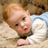 Baby lying Stock Image