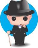 Baby mafia Royalty Free Stock Image