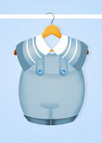 Baby male dress Royalty Free Stock Image
