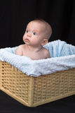 Baby in Mand Stock Foto