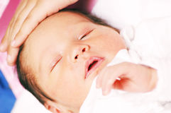 Baby Maria #1 Royalty Free Stock Photo