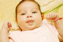 Baby Maria #29. Beautiful baby smileing at you Stock Photos