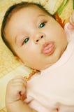 Baby Maria #30. Beautiful baby stareing at yoyu Royalty Free Stock Photo