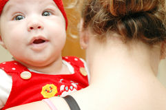 Baby Maria #41. Beautiful little baby Stock Photography