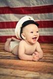 Baby-Marinesoldat Stockfotografie
