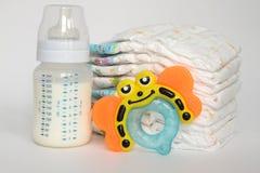 BABY-MATERIAL stockbilder