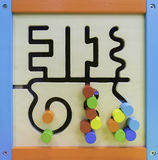 Baby Maze Educational toy Stock Photos